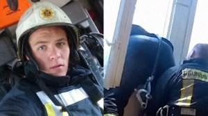Read more about the article Ο πυροσβέστης της χρονιάς, έπιασε στον αέρα γυναίκα που πήδηξε από το μπαλκόνι της