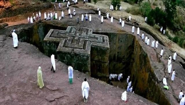 Αιθιοπία: Ο μυστηριώδης ναός του Αγίου Γεωργίου