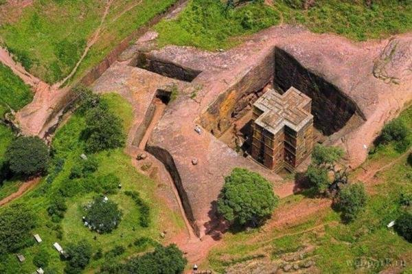 η Λαλιμπέλα εξακολουθεί να είναι ένας τόπος προσκυνήματος για τα μέλη της Αιθιοπικής Ορθόδοξης Εκκλησίας Τιβαχέντο