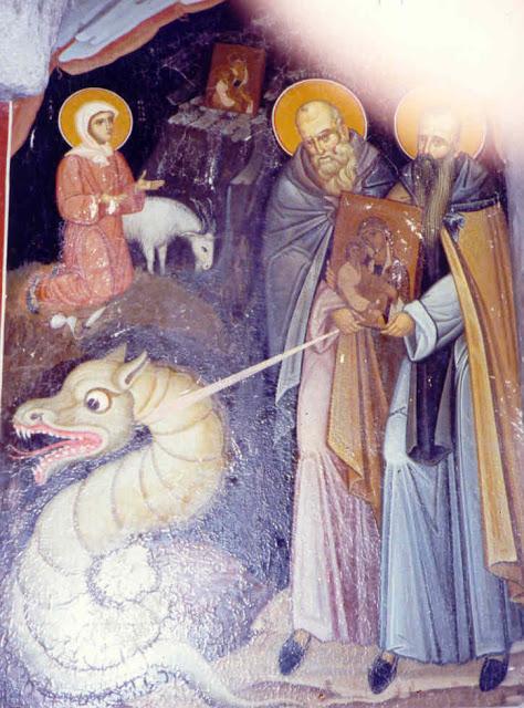 25 Σεπτεμβρίου μνήμη της Οσίας Ευφροσύνης και του πατρός αυτής Παφνουτίου