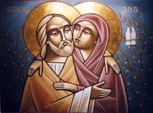 Η Σύναξις των Δικαίων Ιωακείμ και Άννης (9 Σεπτεμβρίου)