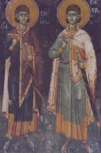 Οι άγιοι μάρτυρες Σέργιος και Βάκχος – 7 Οκτωβρίου