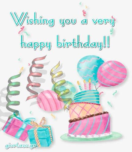 Best Happy Birthday Wishes giortazo Happy Birthday to you Confetti