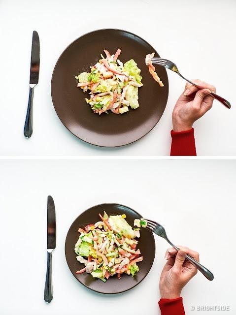 Χρησιμοποιήστε μικρότερο πιάτο