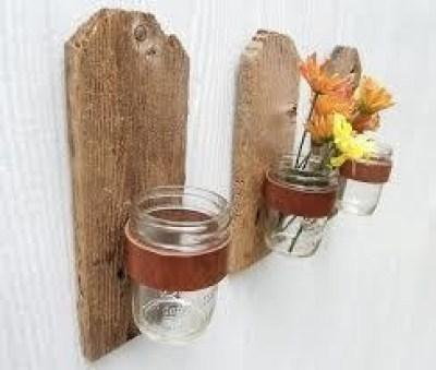 να χρησιμοποιήσετε την κορυφή τους για να τοποθετήσετε βάζα για τα λουλούδια
