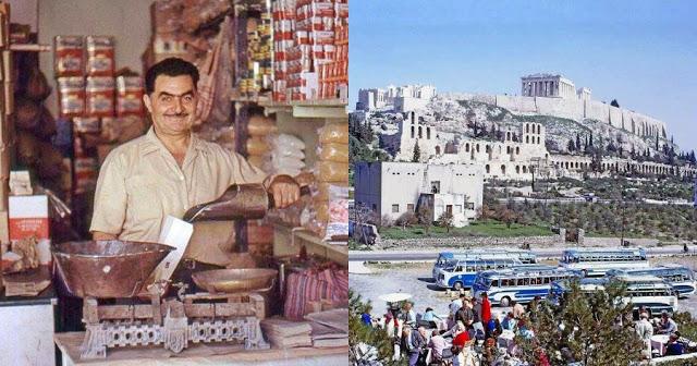 Ταξίδι στο χρόνο σε μια άλλη Ελλάδα που δεν υπάρχει πια, μέσα από 40 σπάνιες έγχρωμες φωτογραφίες
