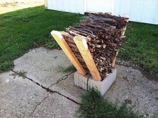 Φυλάξτε τα ξύλα σας