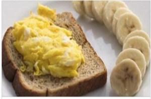 Στρατιωτική δίαιτα με μπανάνες και αυγά