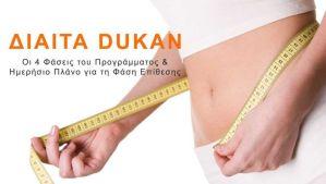 Δίαιτα Dukan – Οι 4 Φάσεις & Πρόγραμμα Ημέρας