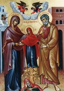 Η Ορθόδοξη Εκκλησία τιμά τρεις φορές την Αγία Άννα