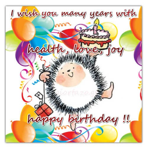 Happy birthday cute and funny wishes