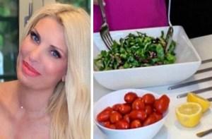 Ελένη Μενεγάκη Η διατροφή που την κρατά στα 59 κιλά