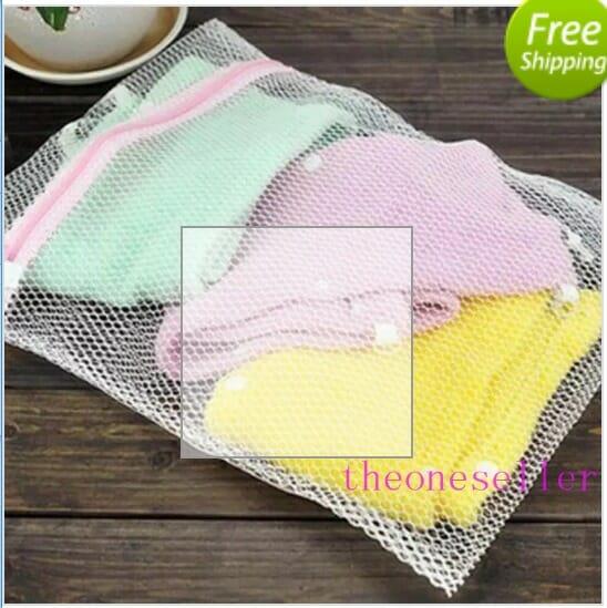 Χρησιμοποιούμε ειδικές τσάντες πλύσης