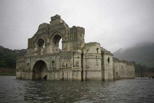 ο ναός του Σαντιάγκο (ή του Quechula)