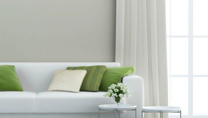βάλτε μοβ και πράσινο σε διάφορα σημεία του σπιτιού
