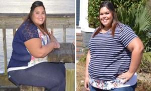 22χρονη κατάφερε να χάσει 80 κιλά με 2 απλές αλλαγές στην καθημερινότητά της