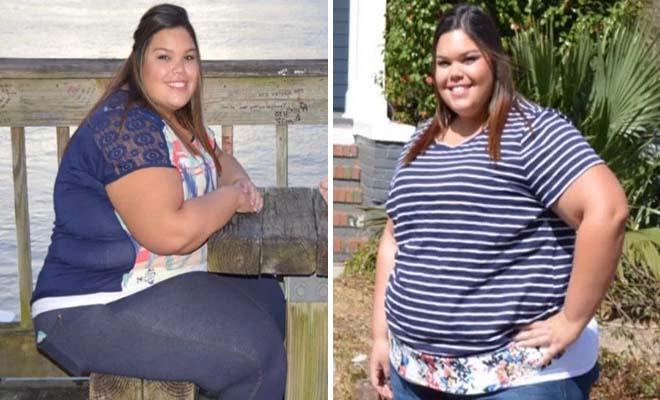 22χρονη κατάφερε να χάσει 80 κιλά με 2 απλές αλλαγές στην καθημερινότητά της και