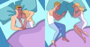 Read more about the article Τι φανερώνει ο τρόπος που κοιμάστε με τον σύντροφο σας για εσάς και τη σχέση σας