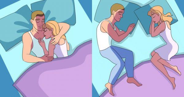 Τι φανερώνει ο τρόπος που κοιμάστε με τον σύντροφο σας για εσάς και τη σχέση σας