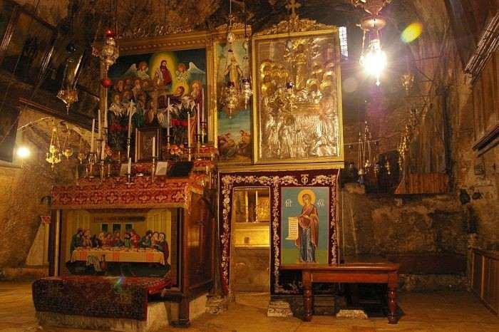 Ο τάφος της Παναγίας