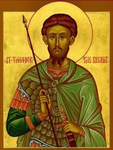 Read more about the article Άγιος Θεόδωρος ο Τήρων: Μεγαλομάρτυρας της Χριστιανικής Εκκλησίας