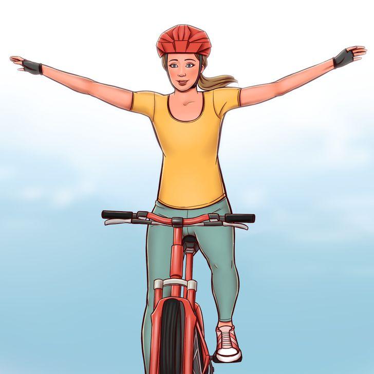 Ποδηλασία – 614 θερμίδες