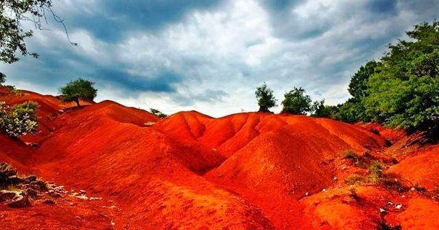 Που βρίσκεται η «κόκκινη Γη» στην Ελλάδα;