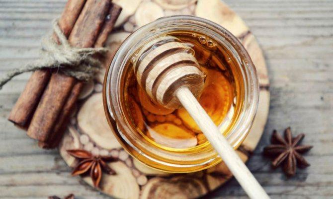 Ρόφημα με κανέλα και μέλι