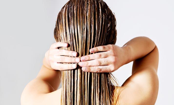 γερά μαλλιά με νερό ρυζιού