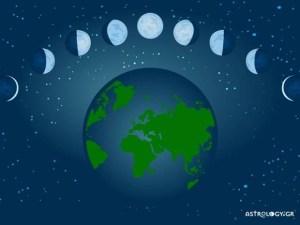 Read more about the article Οι όψεις της Σελήνης με τους υπόλοιπους πλανήτες σε ένα ωροσκόπιο και η ερμηνεία τους
