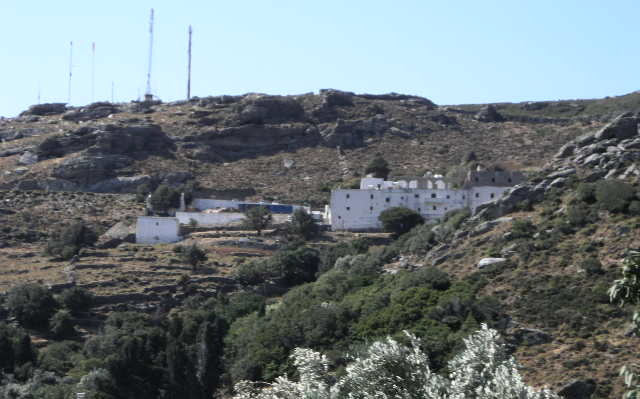 Read more about the article Ιερά Μονή Αγίας Μαρίνας στην Άνδρο: Ο τόπος που εμφανίστηκε η Αγία