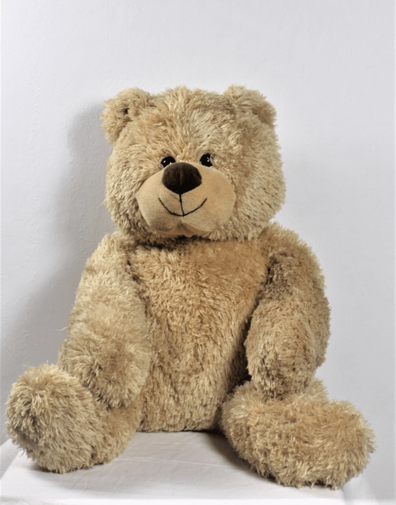 Grote beige knuffelbeer 2e hands gks
