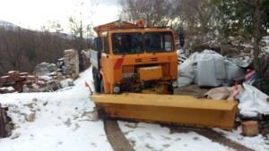 lavori stagionali: sgombero neve