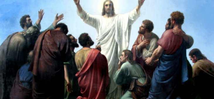 Gesù in persona stette in mezzo a loro e disse: «Pace a voi!»