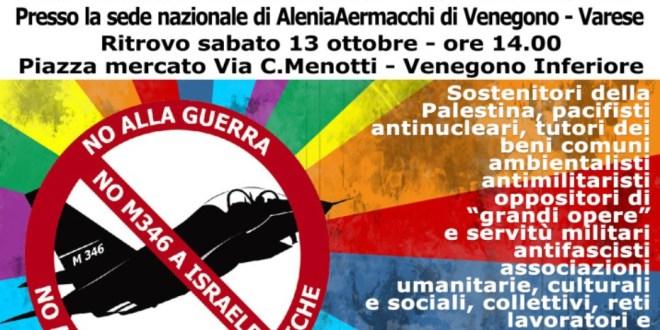 I Giovani Comunisti/e aderiscono alla manifestazione per la pace a Venegono