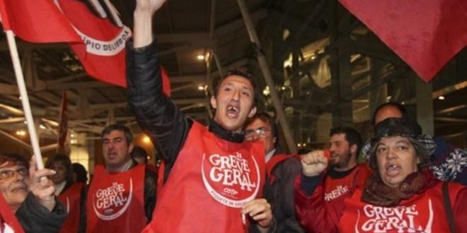 Giornata storica a Lisbona: sciopero totale, tutto fermo