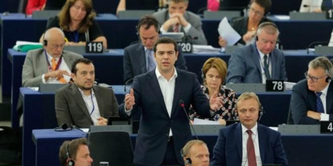 Il discorso di Tsipras al Parlamento europeo