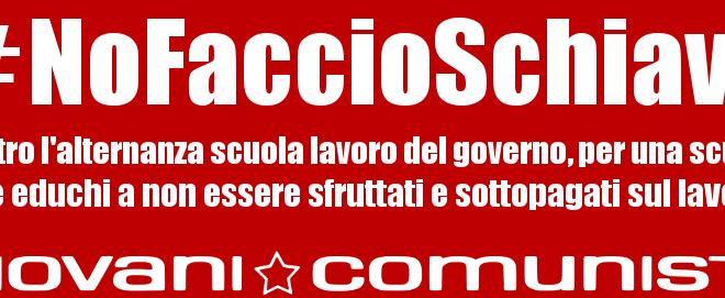 Arresto a Monza: Basta con sfruttamento mascherato da alternanza scuola-lavoro