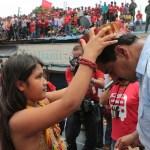 Maduro e una indigena, fonte lapatilla.com