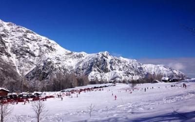 Le sciovie di Pian Benot: la neve a misura di famiglia a Viù, in provincia di Torino