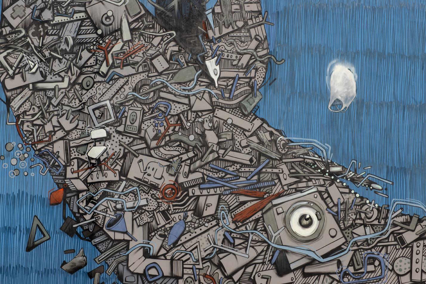 street art tour torino