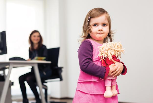 Cobaby working: quando si va al lavoro con il bebè