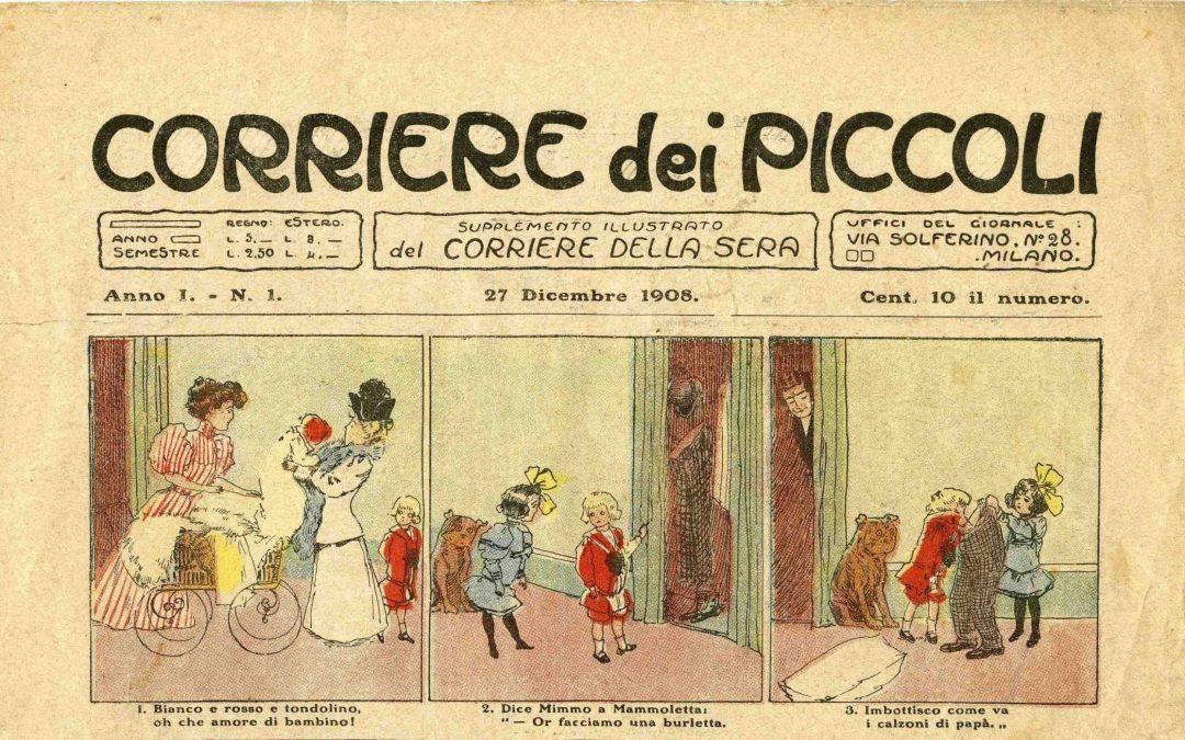 Corriere dei Piccoli, una mostra sui 110 anni del fumetto in Italia
