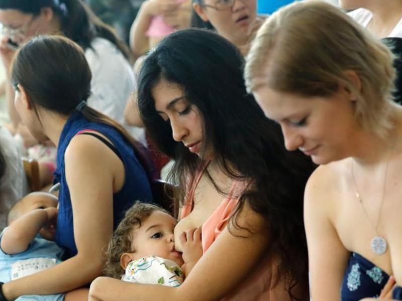 A ottobre si festeggia la Settimana mondiale per l'allattamento materno