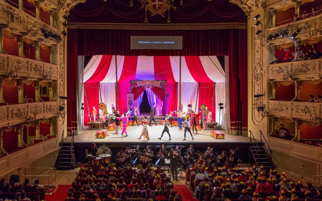 L'affascinante proposta del teatro lirico per i bambini