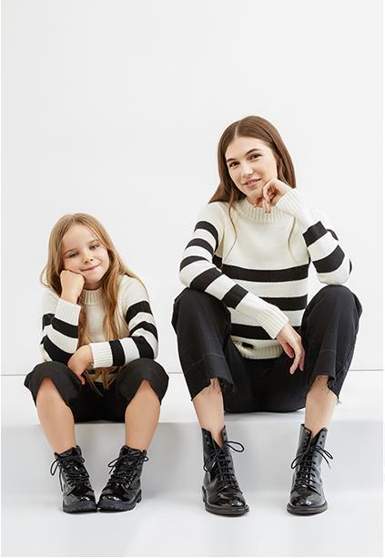 Mini-me o Maxi-you: i bimbi si vestono come mamma e papà