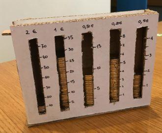 La scatola conta soldi