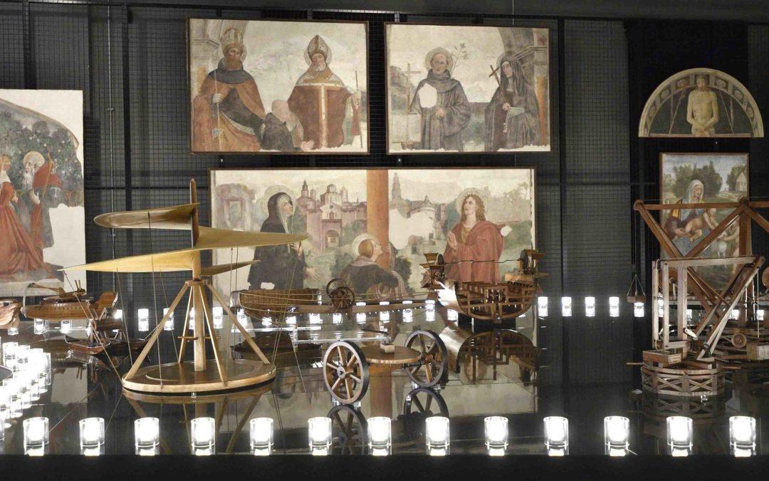 Mostre ed eventi su Leonardo superstar, tra Torino e Milano