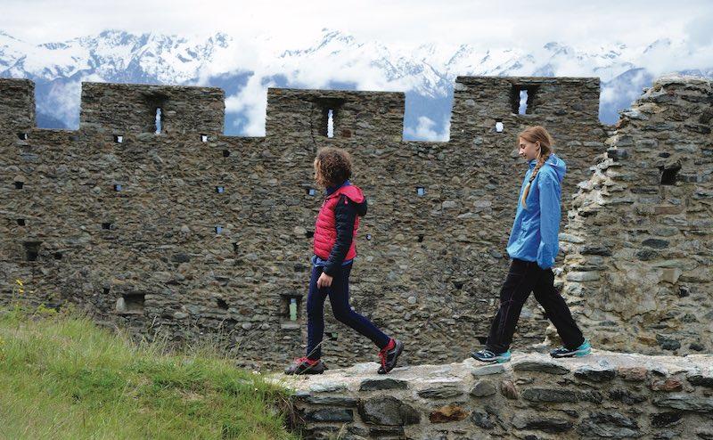 Monte Rosa Randò, un trekking di famiglia