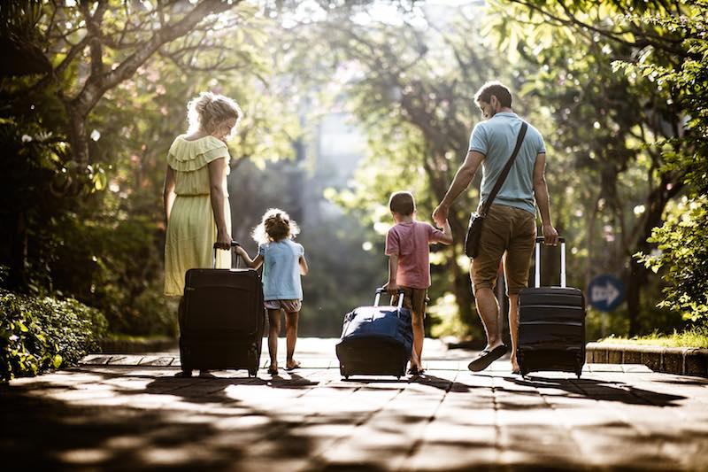 viaggi lunghi con bambini